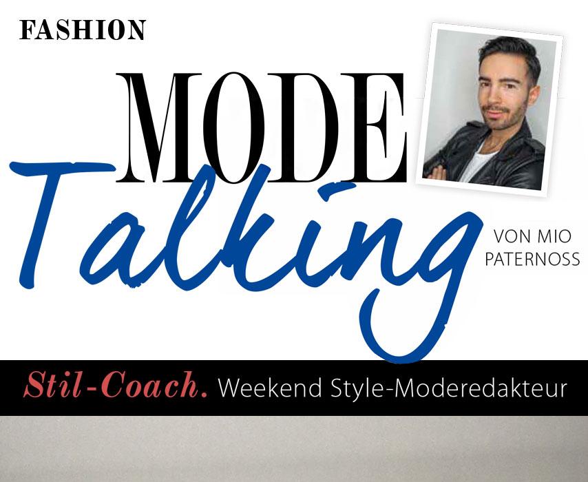Menü Mode Talking